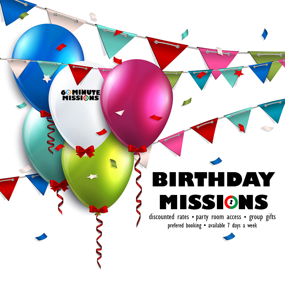 Birthday Missions