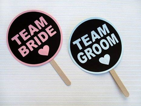 Team Bride and Team Groom