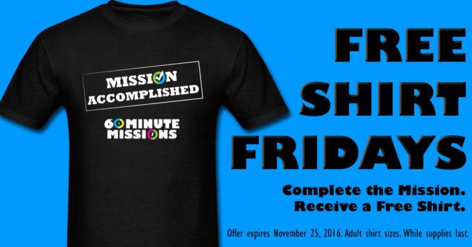 Free Shirt Fridays