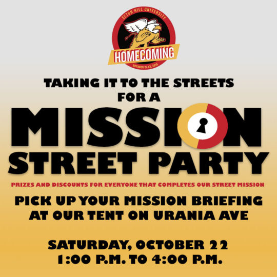 SHU Homecoming Street Party