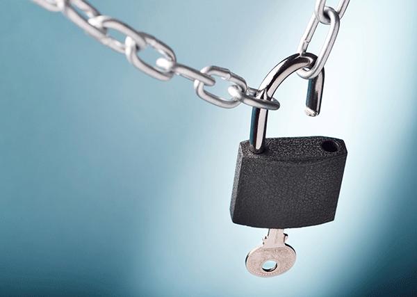 Unlocking Padlock