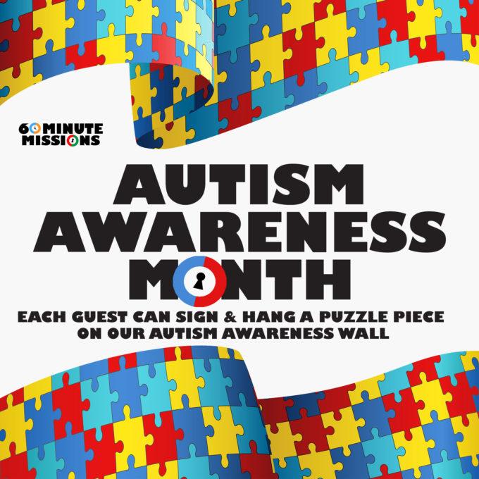 Autism Awareness Wall