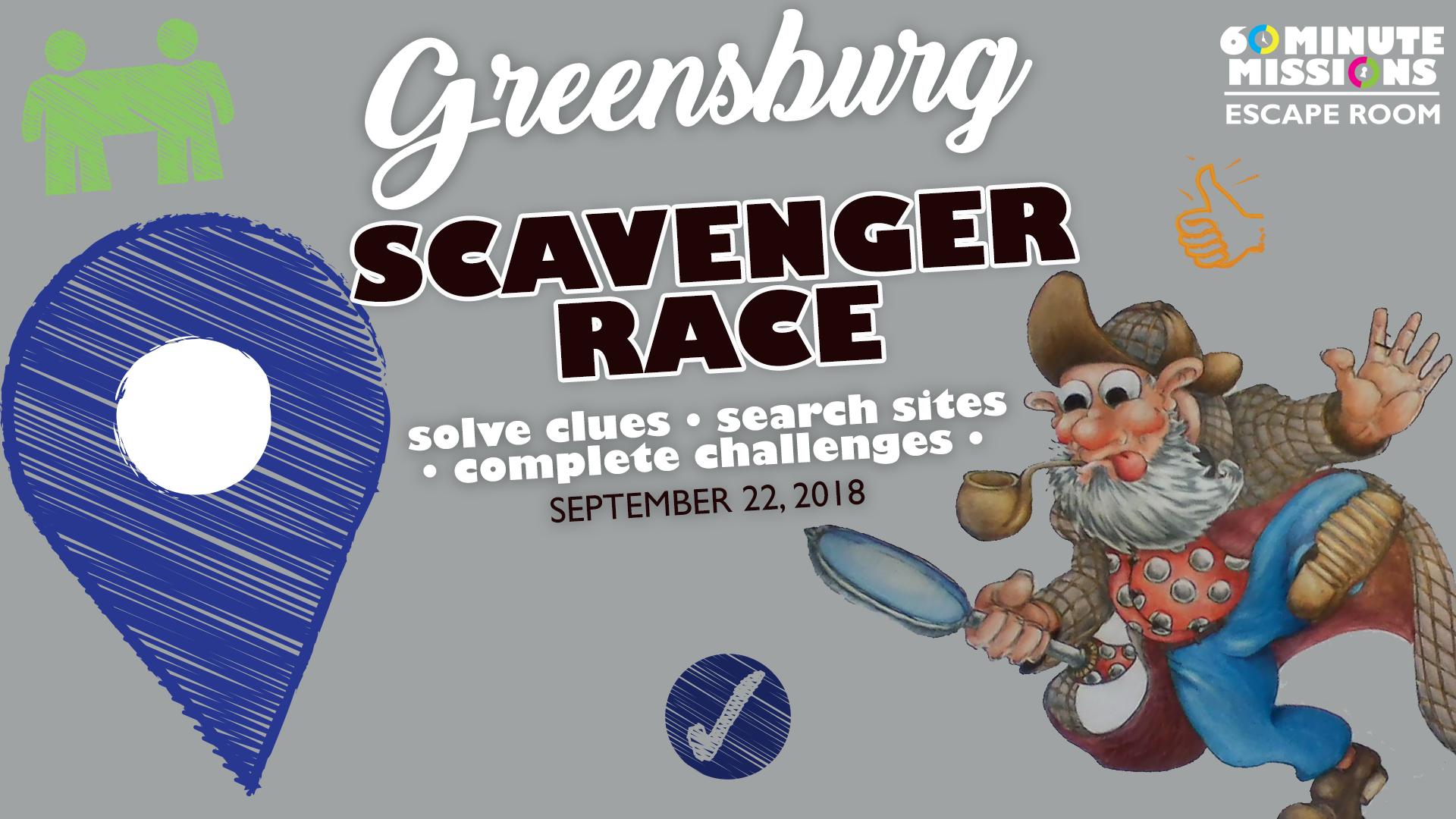 Scavenger Race 2018