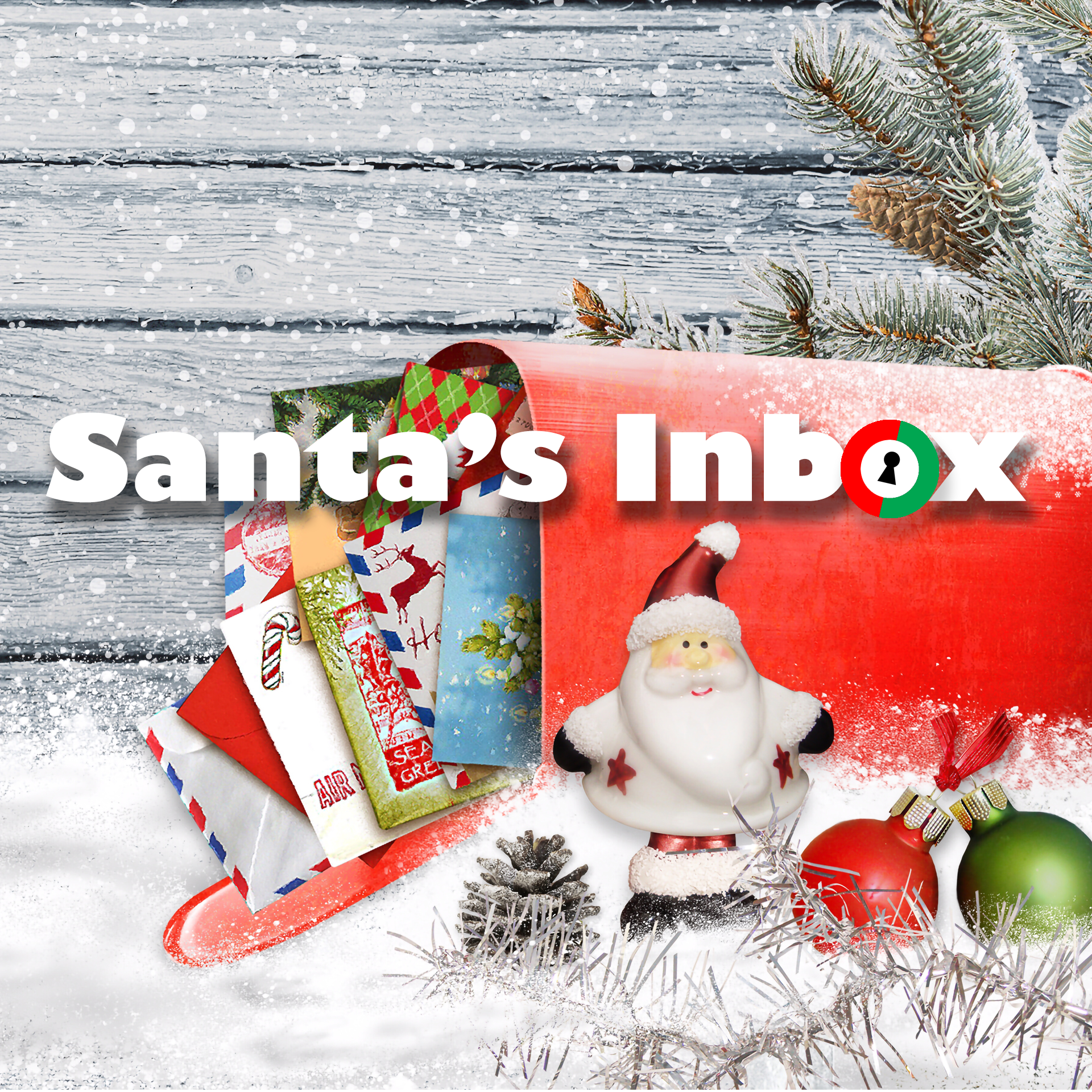 Santa's Inbox Escape Room