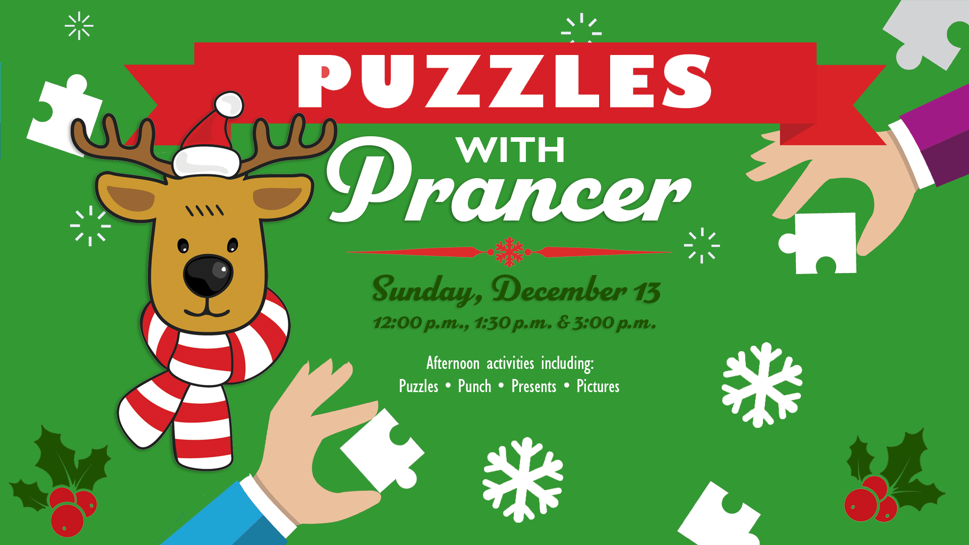 Puzzles with Prancer